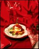 Prato vibrante do camarão Fotografia de Stock Royalty Free