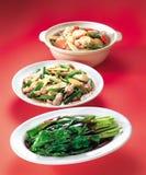 Pratos asiáticos imagem de stock