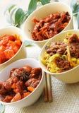 Pratos chineses Imagens de Stock