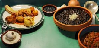 Pratos cubanos típicos Imagem de Stock