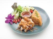 Pratos culinária do international de Tailândia e de China foto de stock