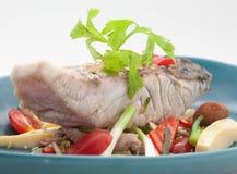 Pratos culinária do international de Tailândia e de China Imagem de Stock Royalty Free