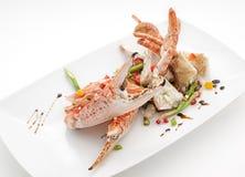 Pratos culinária do international de Tailândia e de China Fotografia de Stock