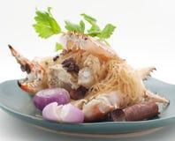 Pratos culinária do international de Tailândia e de China Fotografia de Stock Royalty Free