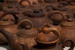 Pratos da argila Imagem de Stock