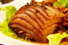 Pratos da carne da pimenta Foto de Stock