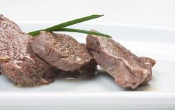 Pratos da carne do assado imagem de stock royalty free