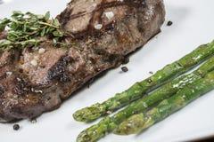 Pratos da carne e de galinha fotografia de stock