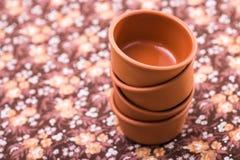 Pratos da cerâmica Fotos de Stock Royalty Free