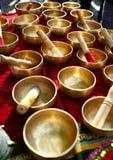 Pratos de cobre Imagem de Stock