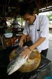 Pratos de peixes Imagem de Stock Royalty Free