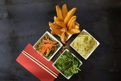 Pratos laterais vegetais imagem de stock royalty free