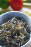 Pratos tailandeses com camarão e pimentão e especiarias, alimento de Yum Kuggetgn mim imagem de stock royalty free
