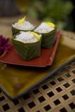 Pratos tailandeses do alimento Fotografia de Stock