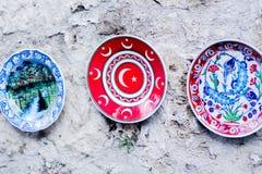 Pratos turcos tradicionais foto de stock