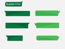 Pratstundbubbla stock illustrationer
