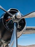 Pratt och Whitney flygplanmotor Arkivbilder