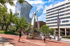 Pratt Street in Baltimore Royalty Free Stock Image