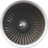 Pratt & Whitney 4056 Immagine Stock