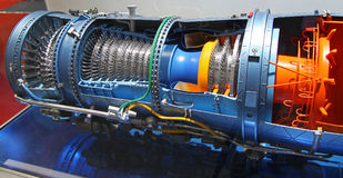 Pratt & Whitney  F100-STW-229 engine Stock Photos