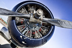 Pratt and Whitney Propeller Stock Photos