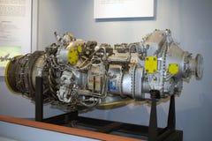 Pratt and Whitney PW123 engine Stock Photo