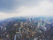 Pratunam la città di Bangkok Fotografia Stock Libera da Diritti