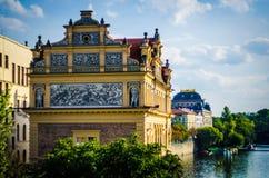 Praue stadssikt Fotografering för Bildbyråer
