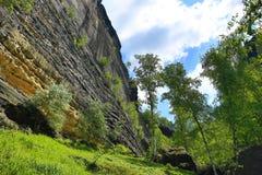 Pravcicka-Felsen, Tscheche die Schweiz, Tschechische Republik Lizenzfreies Stockfoto