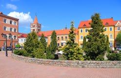 Pravdinsk city landscape Royalty Free Stock Photo