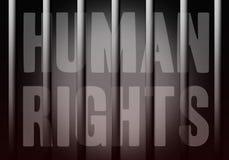 prawa człowieka Obrazy Stock