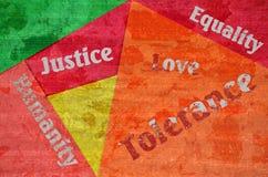 Prawa człowieka zdjęcia stock
