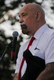 Prawa człowieka aktywista Valery Borshchov obraz stock