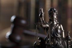 Prawa i sprawiedliwości pojęcie Miejsce dla teksta i typografii Obrazy Royalty Free