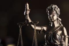 Prawa i sprawiedliwości pojęcie Miejsce dla teksta i typografii Fotografia Royalty Free