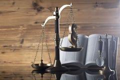 Prawa i sprawiedliwości temat Obrazy Stock