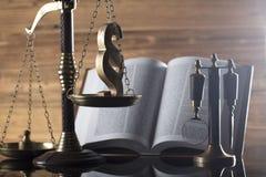 Prawa i sprawiedliwości temat Fotografia Stock