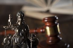 Prawa i sprawiedliwości temat miejsce tekst Zdjęcie Stock
