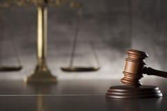Prawa i sprawiedliwości temat Prawo symbole miejsce tekst Zdjęcie Royalty Free