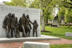 Prawa Obywatelskiego Capitol Pomnikowy Historyczny kwadrat Obrazy Royalty Free