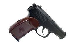 Prawdziwa kopia zakurzony lotniczy pistolet obraz royalty free