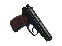 Prawdziwa kopia zakurzony lotniczy pistolet zdjęcie royalty free