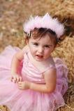 prawdziwa księżniczka się patrzą Fotografia Stock