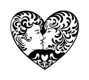 Prawdziwa miłość wektoru sztuka ilustracji