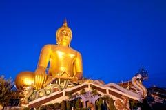 prawdziwa wielka Buddha statua obraz royalty free