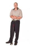 prawdziwy golfiarz 2 Fotografia Royalty Free