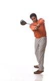 prawdziwy golfiarz Obraz Royalty Free