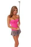 prawdziwy golfiarz sexy Zdjęcie Royalty Free