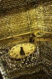 Prawdziwy jaśnienie zegar zdjęcie stock
