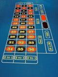prawdziwy kasyna ruletki sesja strzały stół Obraz Stock